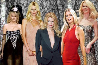 Claudia Schiffer: i look cult della top model