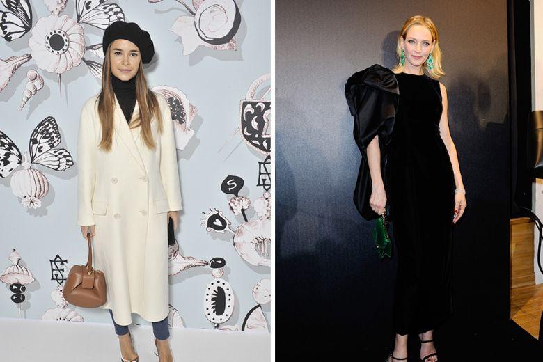 Le best dressed della settimana, da Uma Thurman a Miroslava Duma