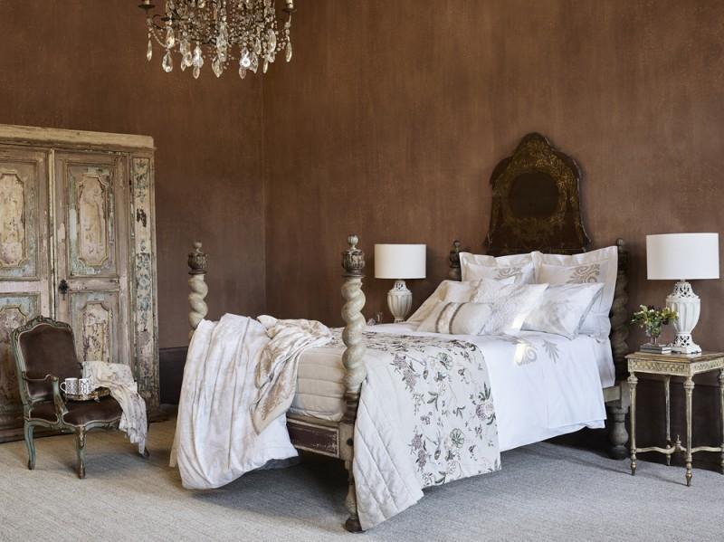 La camera da letto tradizionale
