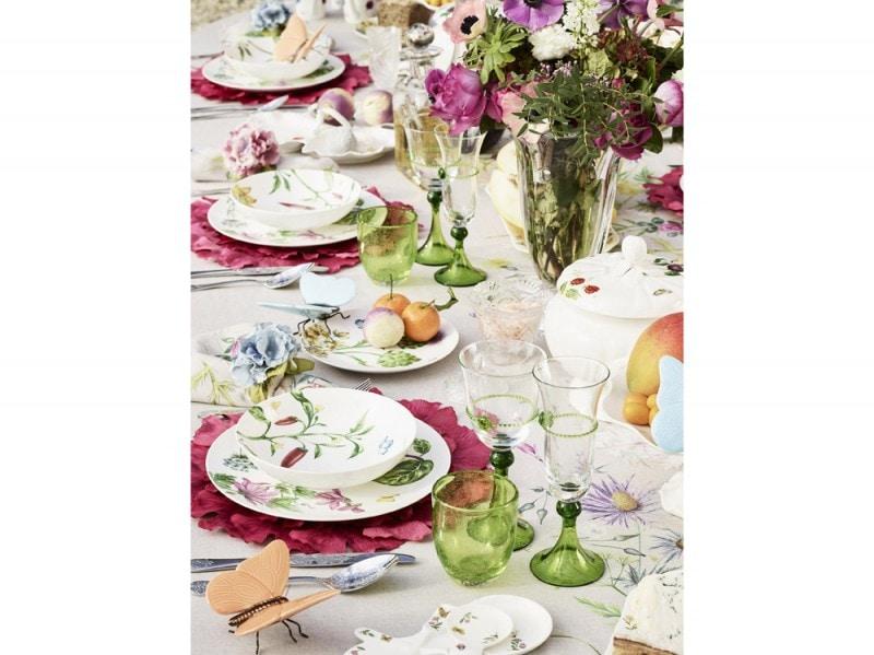 La tavola colorata per la primavera