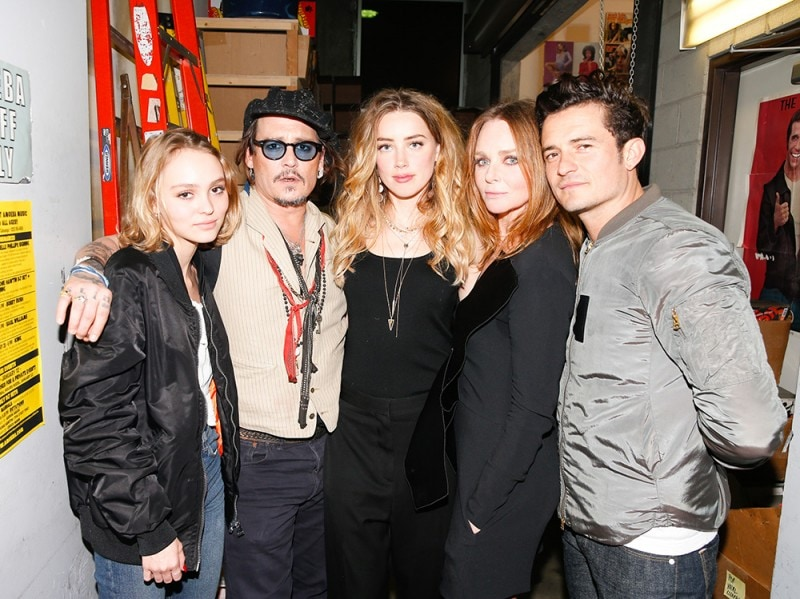 Lily-Rose-Depp_Johnny-Depp_Amber-Heard_Stella-McCartney_Orlando-Bloom