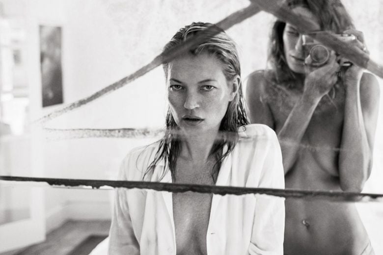 Kate Moss fotografata da Daria Werbowy per Equipment