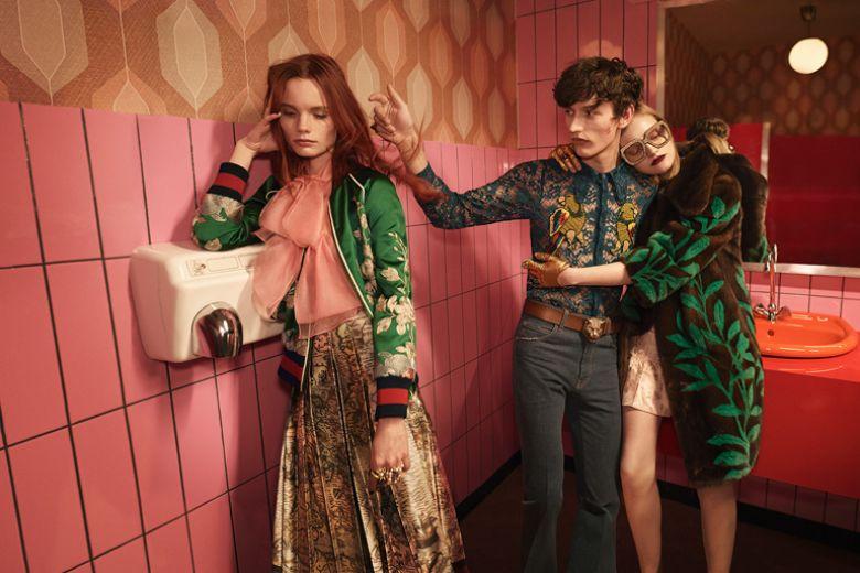 Gucci sceglie Berlino per la nuova campagna p/e 2016