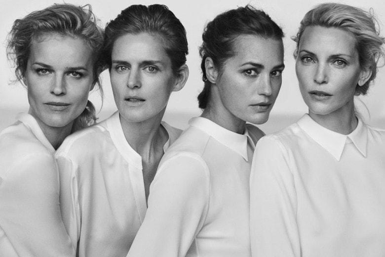 Quattro icone della moda per Giorgio Armani