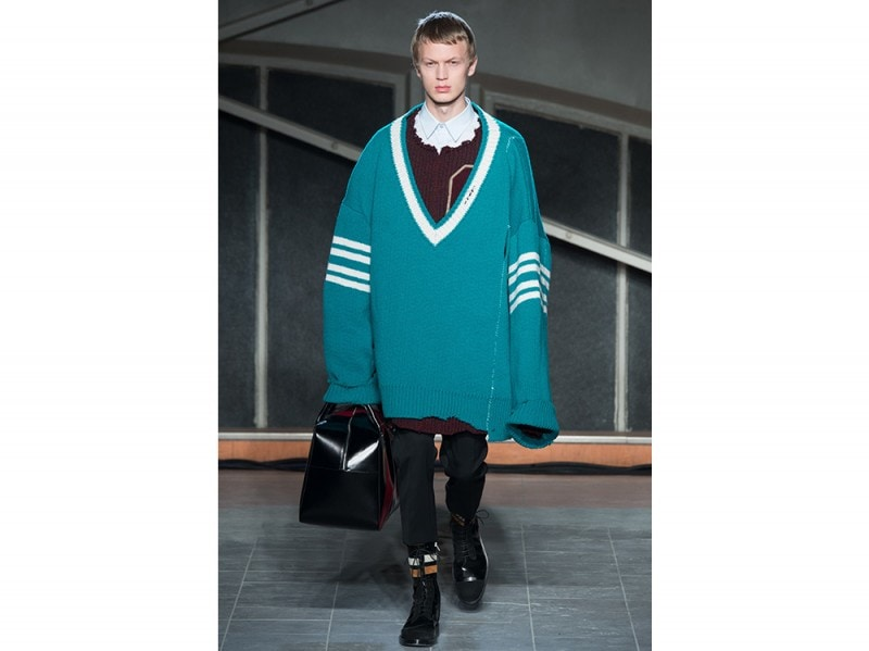 Raf Simons maglione over