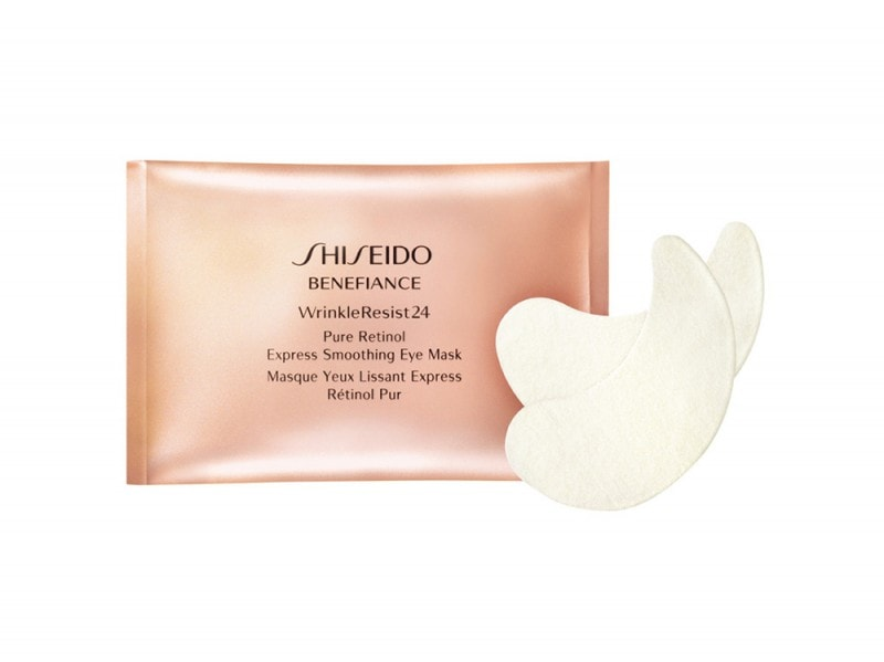 Shiseido-Benefiance-WrinkleResist24-Pure-Retinol-Express-Smoothing-Eye-Mask