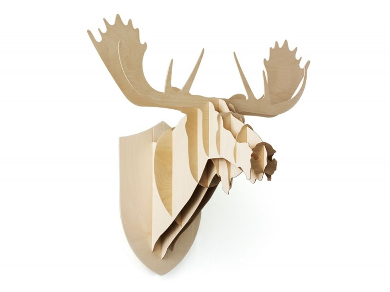 Trofeo decorativo «Moose» di Moustache