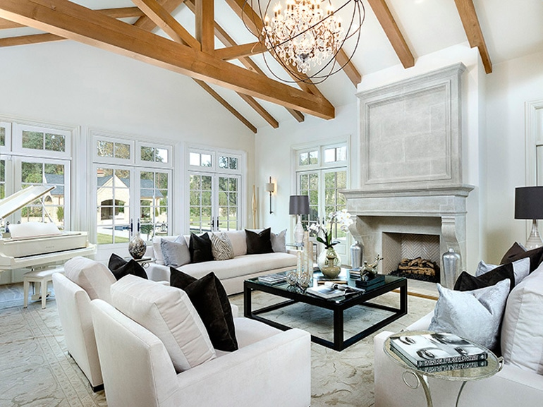 la casa di kim kardashian e kanye west sulle colline californiane ... - Arredamento Casa Kardashian