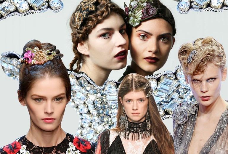 Gli accessori capelli della Primavera sono gioielli preziosi