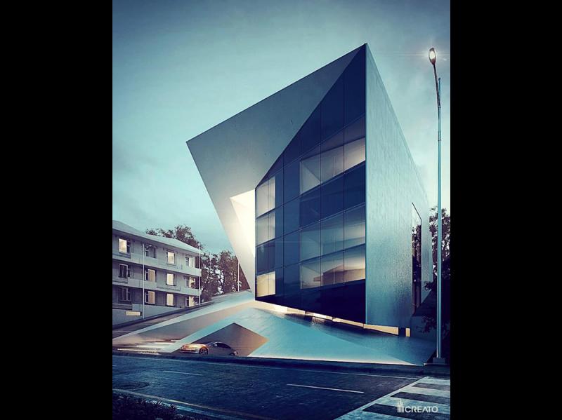 @architecture_hunter: Diamant Hotel by Creato