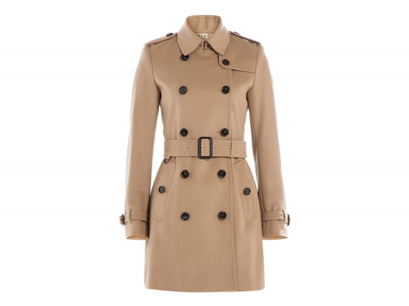 burberry london cappotto cintura