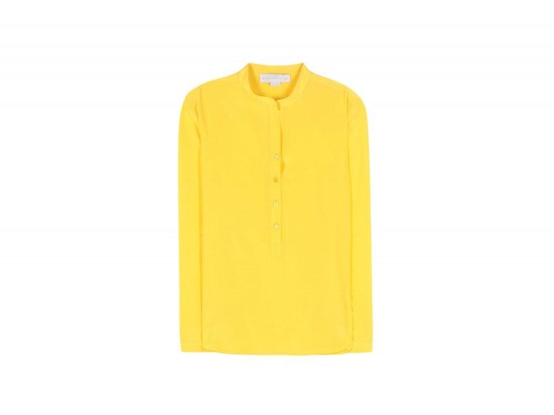 camicia-gialla-seta-stella-mccartney