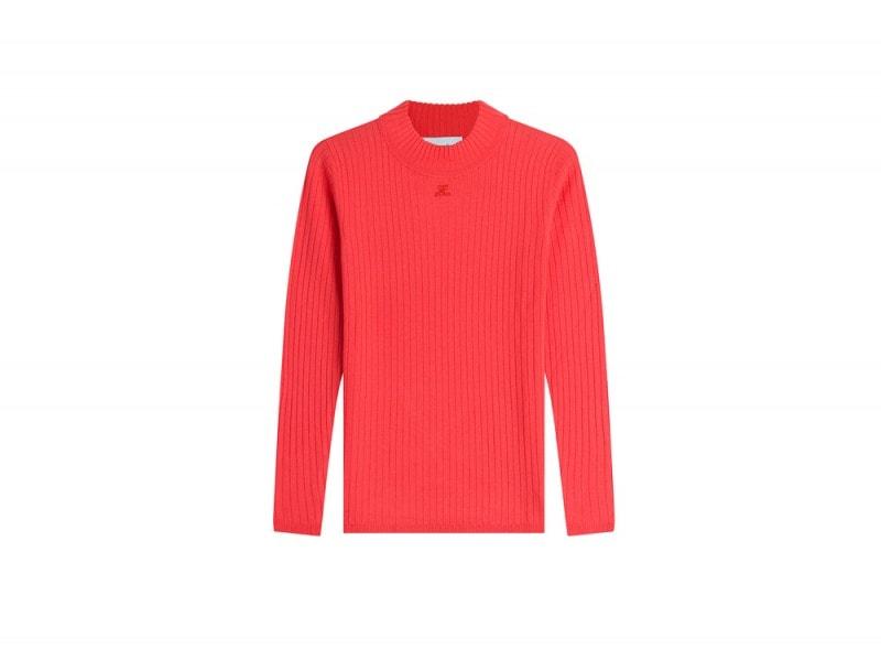 courreges-maglia-rossa