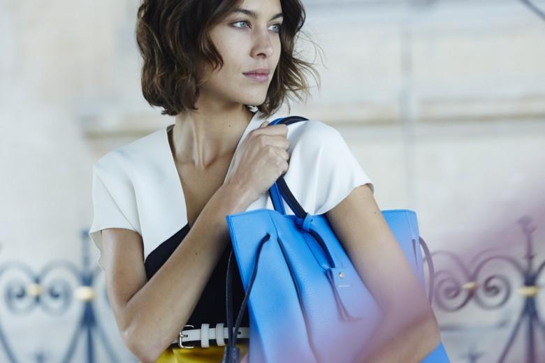 Alexa Chung vista da Peter Lindbergh: è la nuova campagna Longchamp