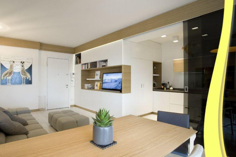 Casa al mare: come ricavare due camere da letto in 65 mq