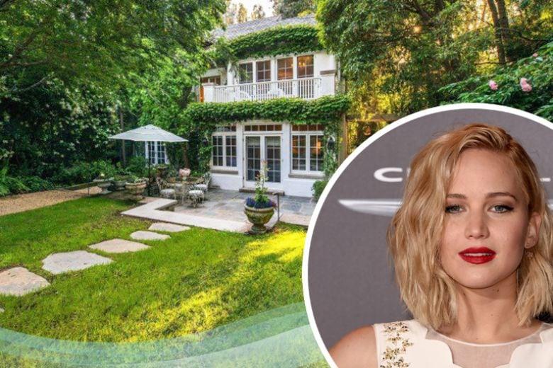 La casa di Jennifer Lawrence a Beverly Hills