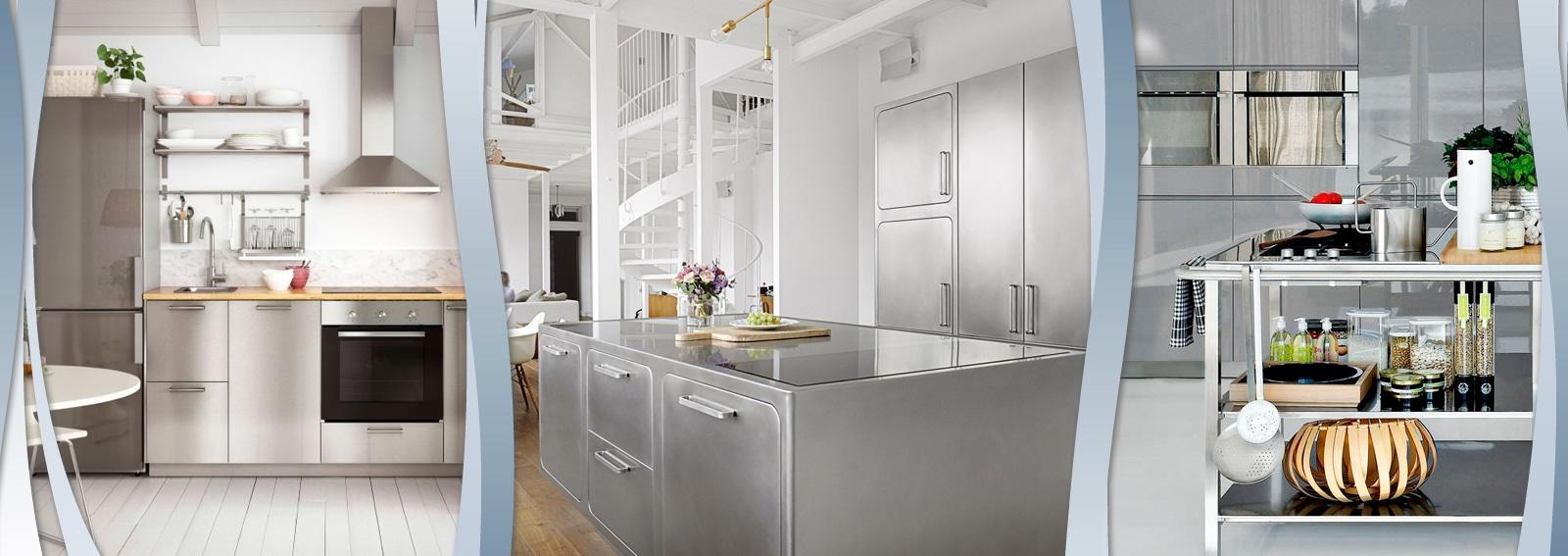 le cucine in acciaio: direttamente dai ristoranti più famosi alla ... - Cucine Acciaio Ikea
