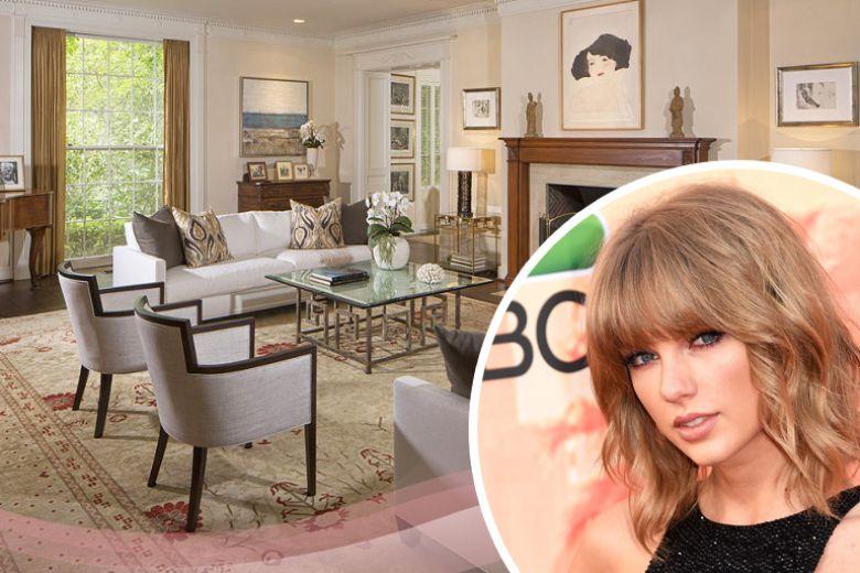 La casa di Taylor Swift a Beverly Hills