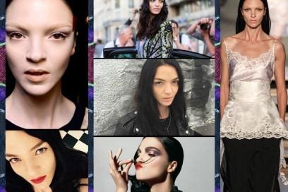 Mariacarla Boscono: i beauty look da topmodel