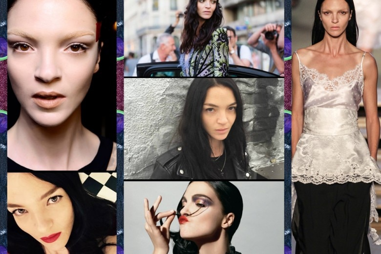 Mariacarla Boscono: i beauty look da topmodel