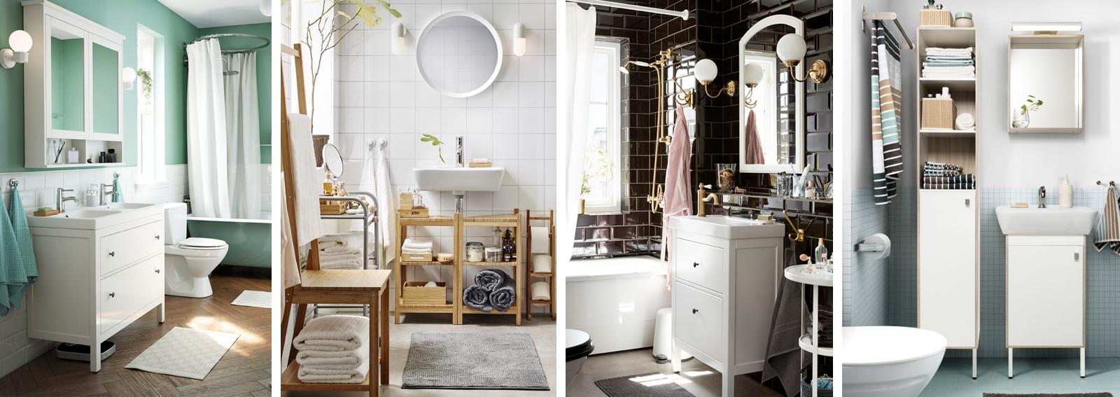 Mobile Bagno Ikea Immagini come arredare il bagno con mobili ikea - grazia