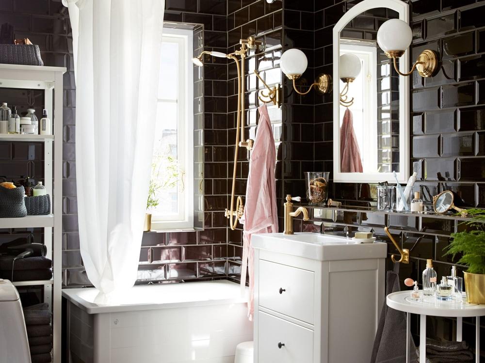 Come arredare il bagno con mobili ikea grazia - Mobile bagno sospeso ikea ...
