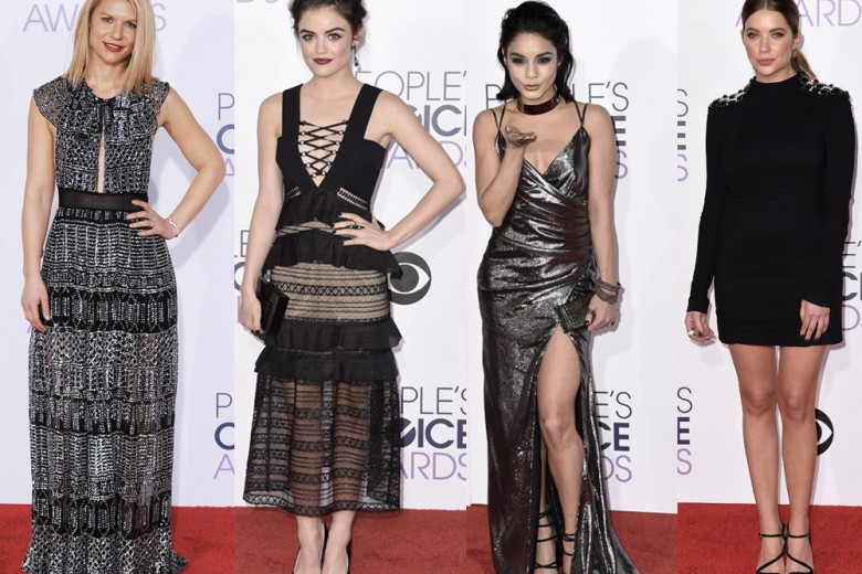 People's Choice Awards 2016: le star scelgono mini-dress e dettagli sparkling