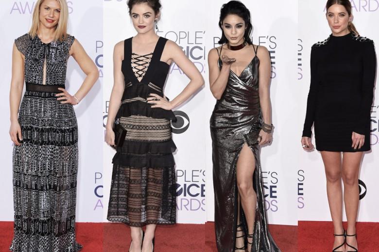 People's Choice Awards 2016: le star scelgono mini-dress e dettagli sparkling