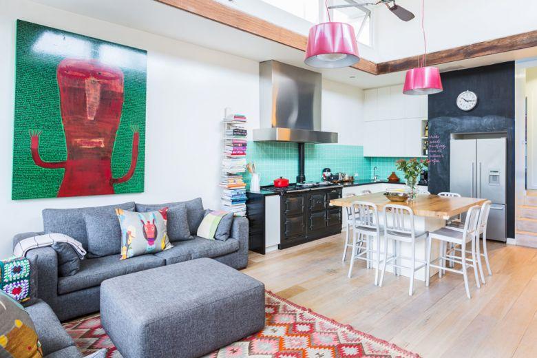 A casa dell'interior stylist Sophie Gunnersen