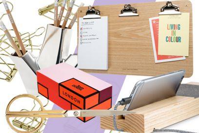 Stationary design: ecco l'occorrente per una scrivania impeccabile