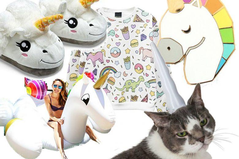 Unicorno mania: oggetti, regali e gadget più belli