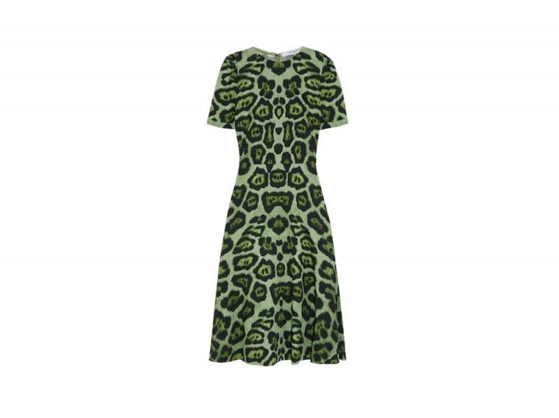 givenchy-abito-leopardato-verde
