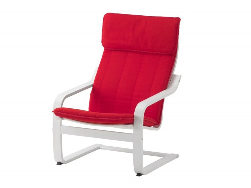 ikea poang rosso
