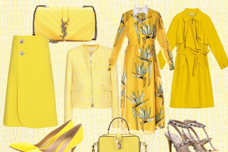 Tendenza giallo per la Primavera-Estate 2016