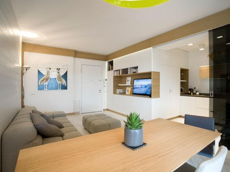 Casa al mare: come ricavare due camere da letto in 65 mq - Grazia