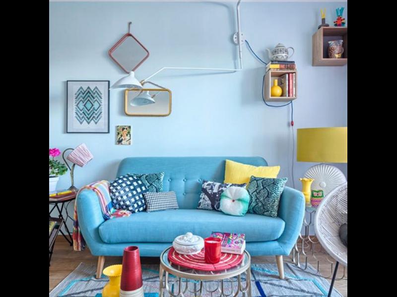 @interiordesignideas: Blue Interiordesign