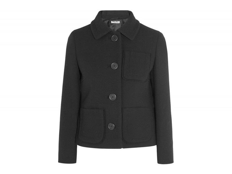 miu miu giacca nero