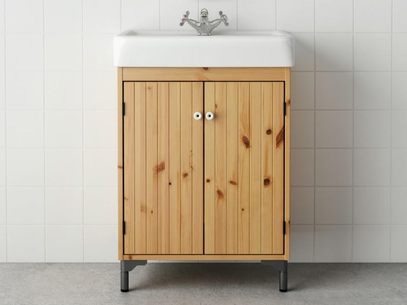 Come arredare il bagno con i mobili ikea - Mobili da bagno angolari ...