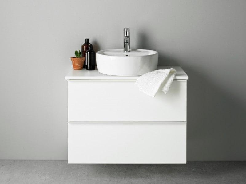 Come arredare il bagno con i mobili ikea - Ikea mobili bagno con lavabo ...