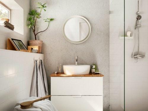 Mobili da bagno ikea cover mobile foto grazia