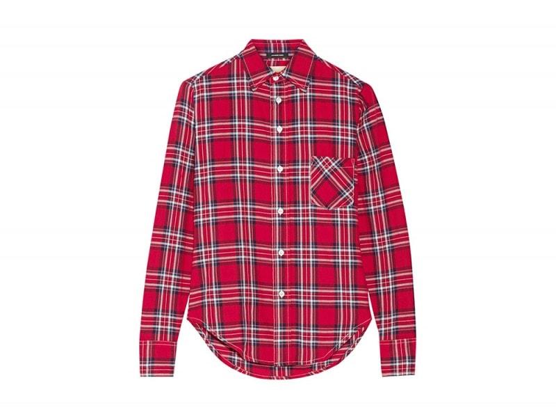 r13 camicia tartan