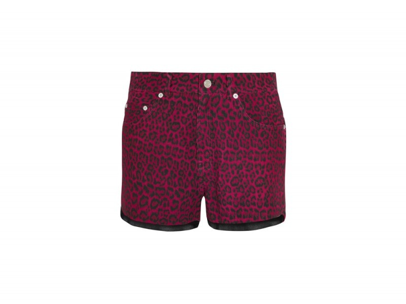 saint-laurent-leopardato-shorts