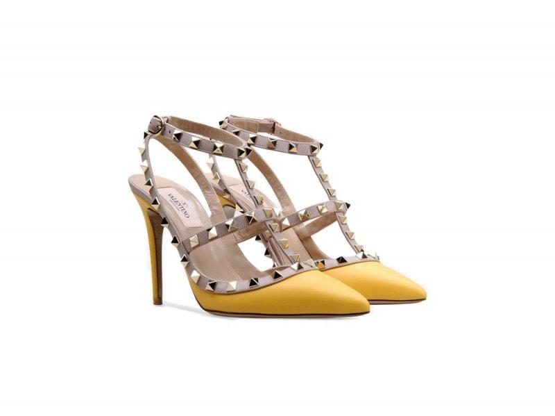scarpe-gialle-rockstud-valentino