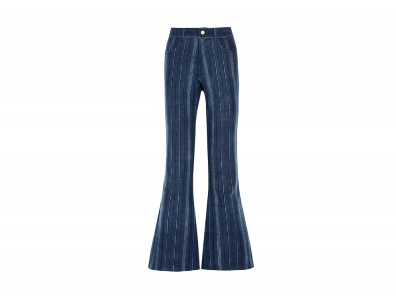 the-elder-statesman-jeans-righe-zampa