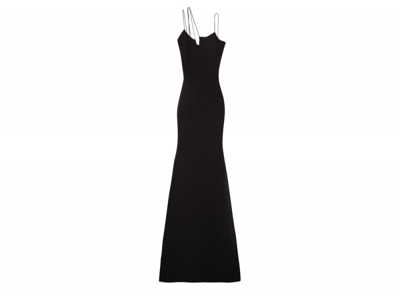 2-abito-lungo-cerimonia_VICTORIA-BECKHAM-Asymmetric-silk-and-wool-blend-crepe-gown_NET