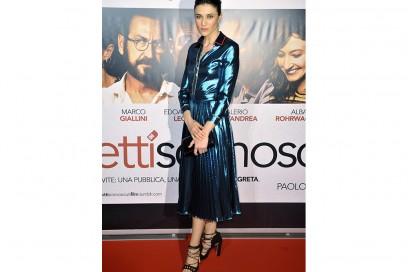 Anna Foglietta in Gucci scarpe Paula Cademartori