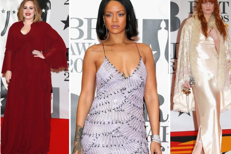 I look delle star ai Brit Awards 2016