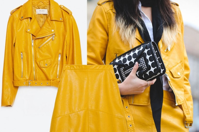 Il completo giallo è il must have del momento