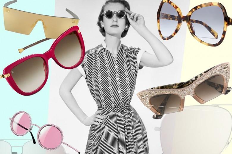Gli occhiali da sole per l'estate