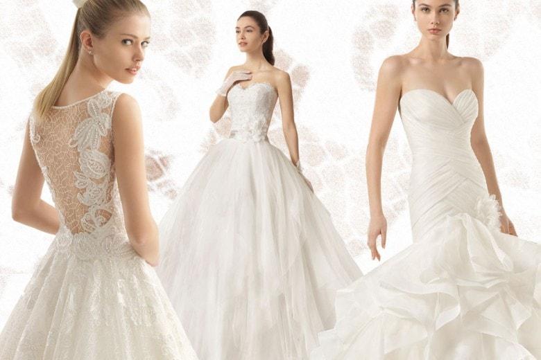Gli abiti da sposa della collezione Two di Rosa Clará
